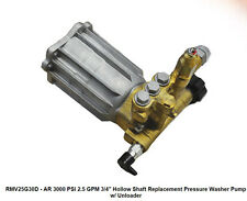 "PRESSURE WASHER PUMP - AR RMV25G30D - 2.5 GPM - 3000 PSI - 3/4"" Shaft"