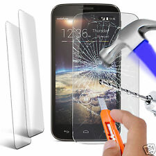 Twin Pack - Genuine Tempered Glass Screen Protector for Vodafone Smart 4 Power
