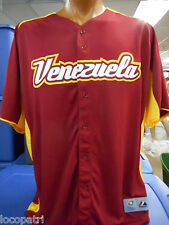 Venezuela World Baseball Classic Majestic Authentic Mens Cool Base Jersey NWT 56