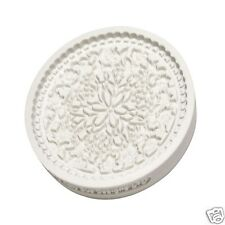 Katy Sue Design FLORAL LACE silicone cupcake/cake mould vintage decor