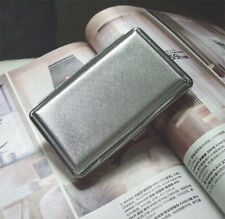 New vintage Cigarette Case antique metal Holder silver Mens womens steampunk man