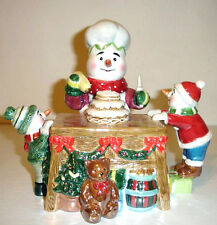 Waterford Baking Time Teapot Holiday Heirlooms Snowy Village Limited Edition New