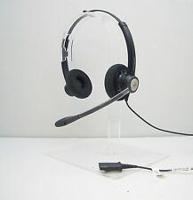 Plantronics Entera HW121N Binaural Noise-Canceling Office Headset for M22 & MX10