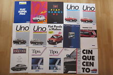 Lot 15 catalogue brochure Fiat