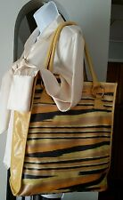 Missoni multi colore women large tote vintage handbag purse made in Italy
