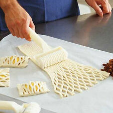 New Cake Bread Pie Pizza Pastry Lattice Roller Cutter Kitchen Baking Tool Gadget
