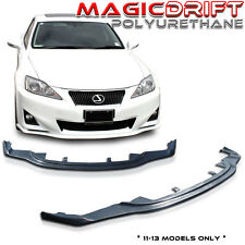 11 12 13 Lexus IS250 IS350 JDM PM Style Front Bumper Chin Spoiler Lip Urethane
