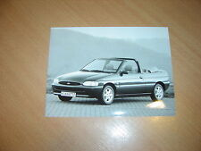 PHOTO DE PRESSE ( PRESS PHOTO ) Ford Escort Cabrio CLX 1.6i 16V Zetec  F0097