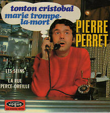 PIERRE PERRET TONTON CRISTOBAL FRENCH ORIG EP JEAN CLAUDRIC