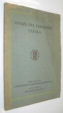 1933 ANNALS DEL PERIODISME CATALA - VARIOS AUTORES - FOTOGRAFIAS - EN CATALAN