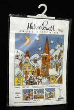 Michael Powell Church Cross Stitch Art Kit NIP Evenweave 2001 X2