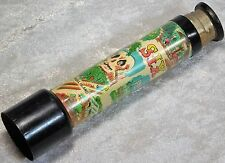 VTG 1960S SIX FLAGS OVER TEXAS SKULL ISLAND TOY SOUVENIR JAPAN COMPASS TELESCOPE