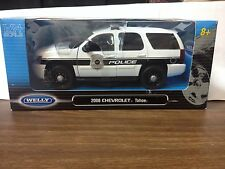 1:24 Welly 2008 Chevrolet Tahoe Police Vehicles