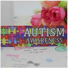 1 mètre 22mm 7/8 Autism Awareness ruban imprimé Grosgrain décoration hairbow