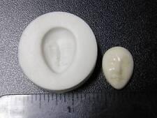 Small Face Polymer Clay Mold Hard / Non Flexible (#MD1086)