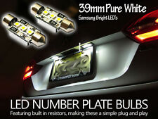 BMW E60 520d  Xenon White LED Number Plate Lights  Error Free 39mm 525 530 UK