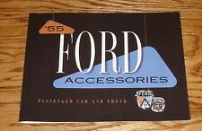 1955 Ford Passenger Car & Truck Accessories Sales Brochure 55 Fairlane