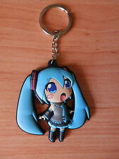 HATSUNE MIKU VOCALOID  KEY CHAIN SOFT PLASTIC 7 CM LLAVERO NEW