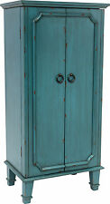 Hives and Honey Cabby Jewelry Armoire with Mirror