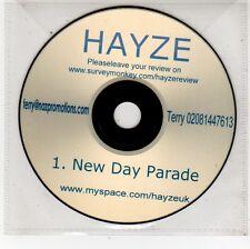 (FU608) Hayze, New Day Parade - DJ CD