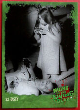 NIGHT OF THE LIVING DEAD - 1968 film - Card #33 - Tasty