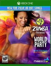 ZUMBA FITNESS WORLD PARTY NEW  microsoft XBOX ONE GAME