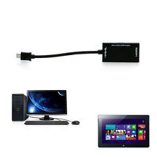 to HDMI Adapter HDTV A A/V TV HOT Short Cable For SamSung Sony MHL Micro USB