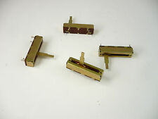 "4 pcs 100KΩ Slider Potentiometer NOS 1.98""L x .5""W x .5"" H"