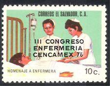 El Salvador 1976 enfermeras Congreso/Enfermería/médico/salud/bienestar 1v O/P (n43153)