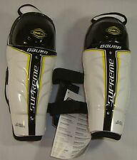 New Bauer Supreme ONE40 Hockey Shin Guards Protective Gear Size: Youth 8.0""
