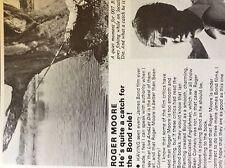 m5-1a ephemera 1970s film item roger moore a great james bond h kelman