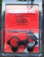 "1"" Millet Rifle Scope Rings *High* Engraved NOS"