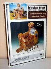 KARTONMODELLBAU  Mittelalterliche Burg  SCHREIBER-BOGEN  676 Medieval Castle