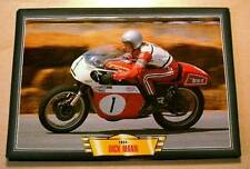 DICK MANN RACER RIDER BSA CLASSIC MOTORCYCLE RACE BIKE PICTURE
