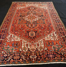Antiker Orient Teppich 336 x 226 cm Alter Perserteppich Antique Old Carpet Rug