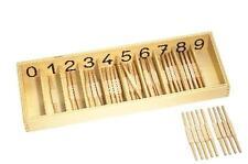 Montessori,Spindelkasten, 46-teiliges Set,MS8