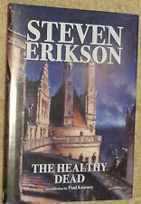 Steven Erikson SIGNED The Healthy Dead UKHC 1st Edn