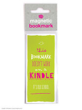 Brainbox Candy Reading novelty magnetic bookmark funny cheap present gift kindle