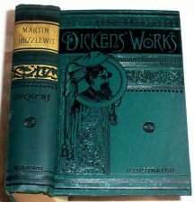 ca.1890 Charles DICKENS Adventures of Martin Chuzzlewit ; about 125 Years Old