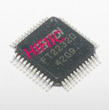 1PCS FT2232D Dual USB UART/FIFO I.C.LQFP48
