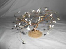 Sand dollar gold tone wire tree Lovely!