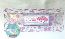 SANRIO MY MELODY KAWAII Long rectangle Clear Resin Tray F/S AIRMAIL JAPAN