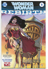 Wonder Woman 1 NM DC Rebirth Warner Bros Studio Tour WB Water Tower 75th Variant