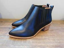 Madewell $218 The Bonham Boots 6 black new shoes leather f5051