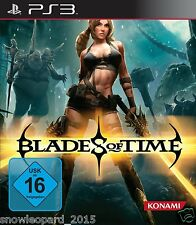 BLADES OF TIME PS3 PlayStation 3 Video Game - Brand New and Sealed Original Rel
