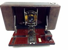 Ansco Vintage Camera Automatic No. 10 Model A Bellows Waliensek Optical C~1906