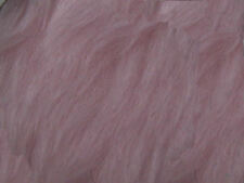 Baby Pink Plain Faux Fur Fabric Short Hair 150cm Wide SOLD BY THE METRE
