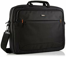 17 Inch Laptop Computer Bag Case Black Padded Nylon Briefcase