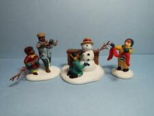 DEPARTMENT 56 - PLAYING IN THE SNOW - SET OF 3
