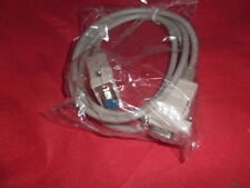 1 metro 9 pin null modem Cable Lead Spina RS232 DB9 Serial COMM NUOVO